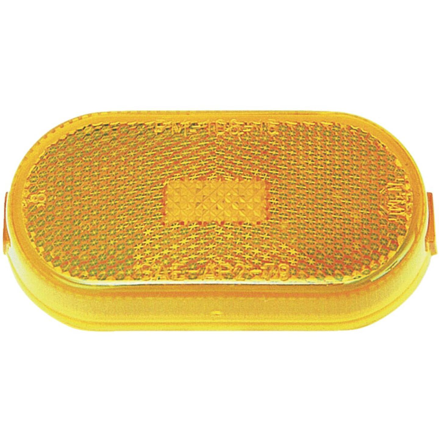 Peterson Oblong 12 V. Amber Clearance Light Image 1