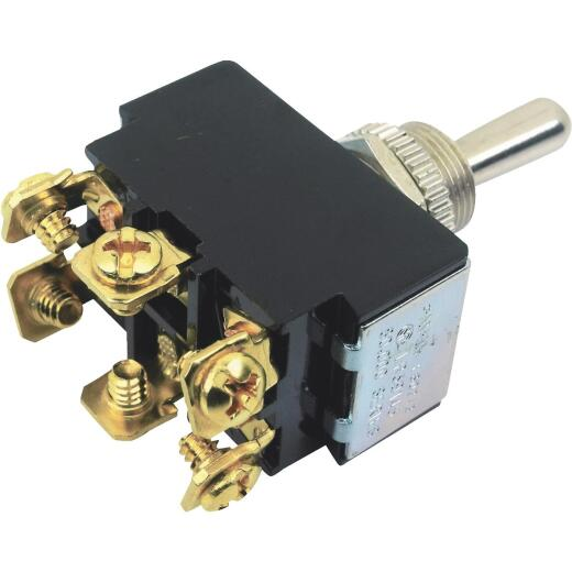 Seachoice 3-Position/6-Terminal 25A/12V Toggle Switch