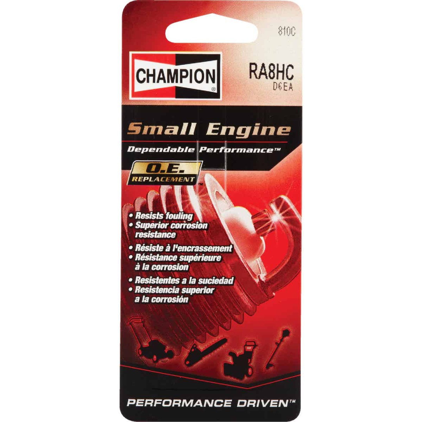 Champion RA8HC Copper Plus Small Engine Spark Plug Image 1