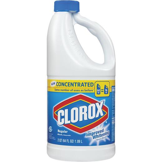 Clorox 64 Oz. Concentrated Improved Whitening Bleach