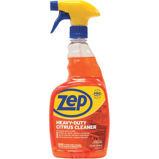 Zep Commercial Heavy Duty 32 Oz. Liquid Cleaner & Degreaser