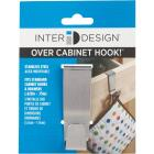 InterDesign Forma Stainless Steel 1 In. W. x 3 In. H. x 2.25 In. D. Cabinet Hook Image 2