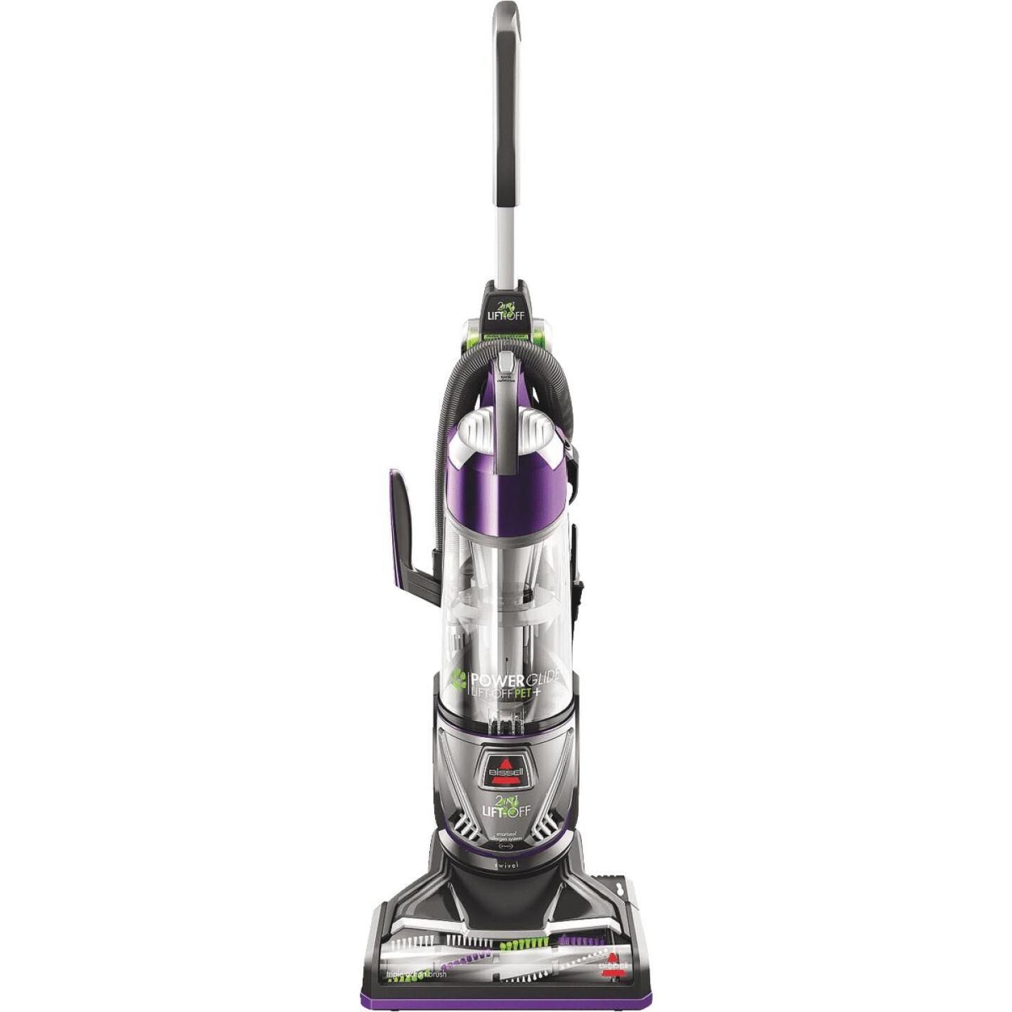 Bissell PowerGlide Lift-Off Pet Plus Bagless Upright Vacuum Cleaner Image 1