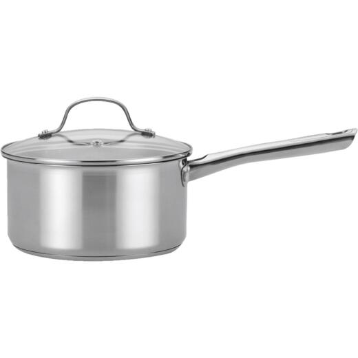 T-Fal 3 Qt. . Stainless Steel Silver Sauce Pan