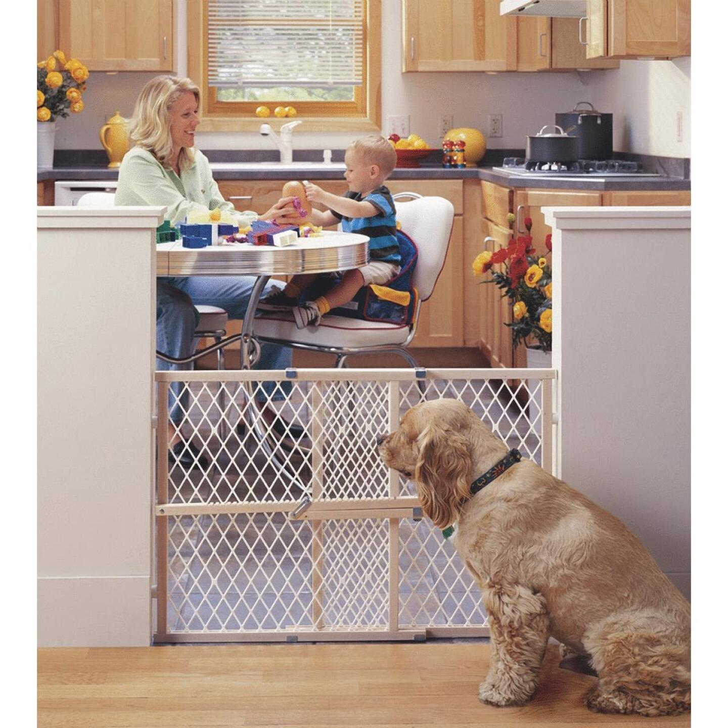 North States 26 In. to 42 In. Expandable Safety Gate Image 1