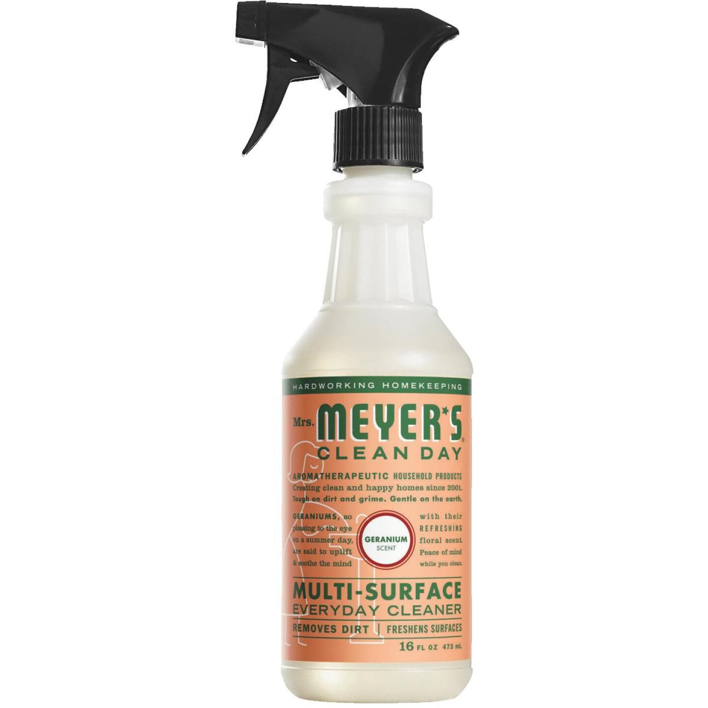 Mrs. Meyer's Clean Day 16 Oz. Geranium Multi-Surface Everyday Cleaner Image 1
