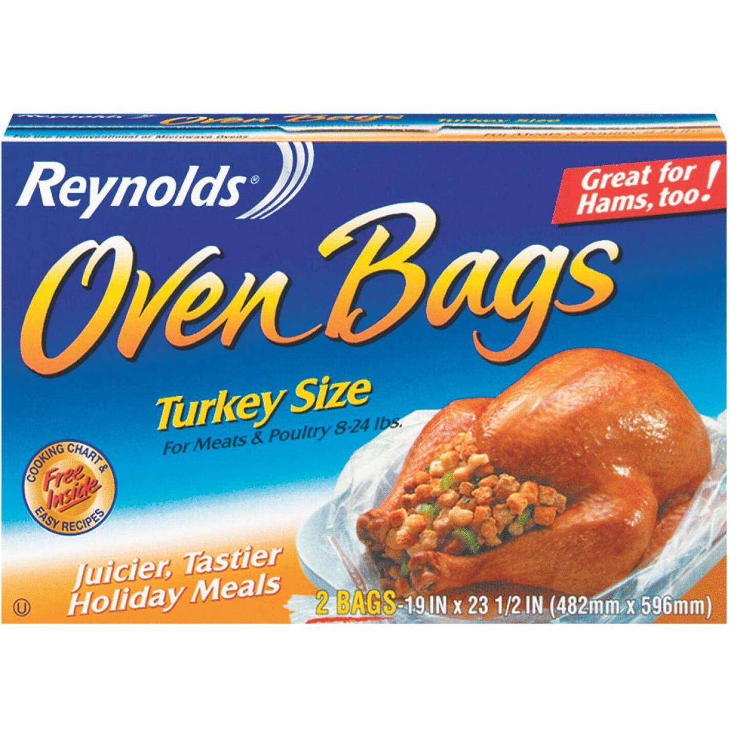 Reynolds 19 In. x 23-1/2 In. Oven Bag (2 Count) Image 1