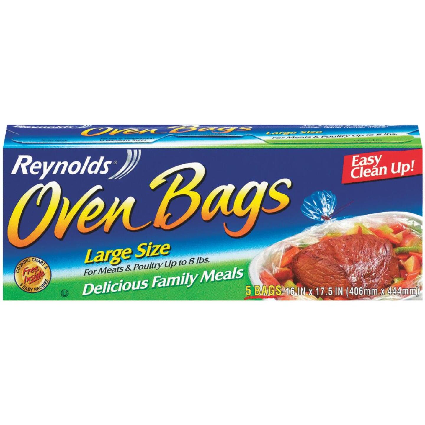 Reynolds 16 In. x 17-1/2 In. Oven Bag (5 Count) Image 1