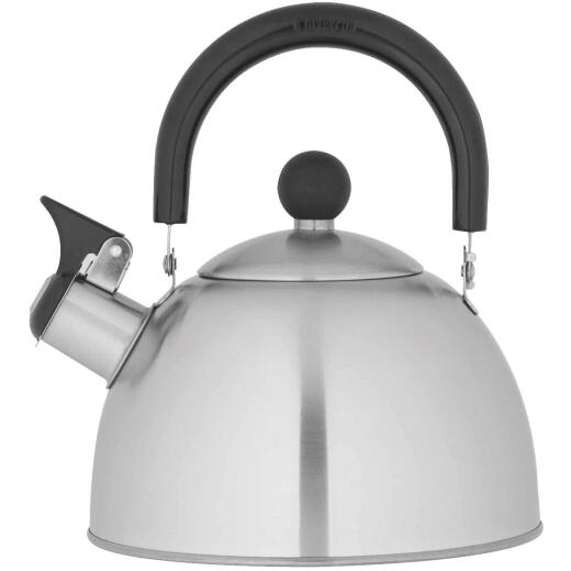 Copco 1.3 Qt. Kettering Brushed Stainless Steel Tea Kettle