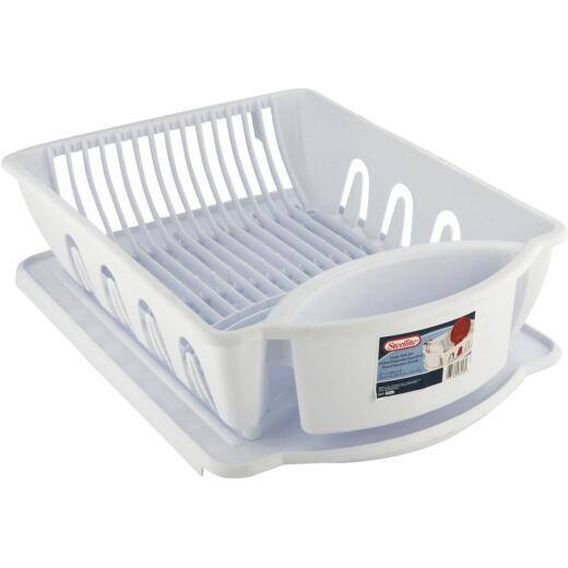 Sterilite 2-Piece Ultra Sink Dish Drainer Set