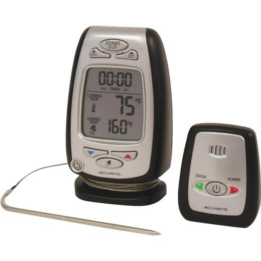 Acu-rite Wireless Cooking Kitchen Thermometer with Wireless Pager