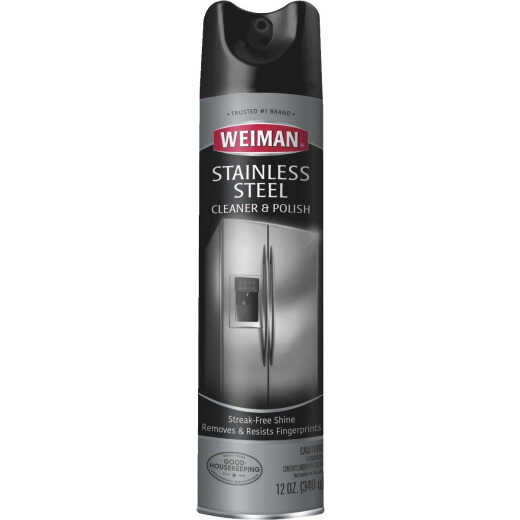 Weiman 12 Oz. Stainless Steel Aerosol Cleaner & Polish