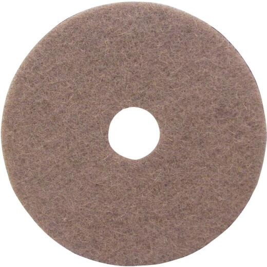 Lundmark 20 In. Natural Hair & Synthetic Fiber Buffing Pad