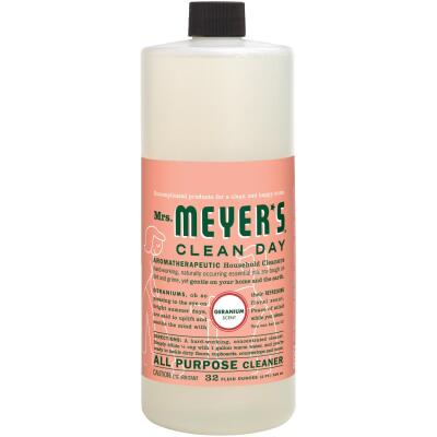 Mrs. Meyer's Clean Day 32 Oz. Geranium Multi-Surface Concentrate