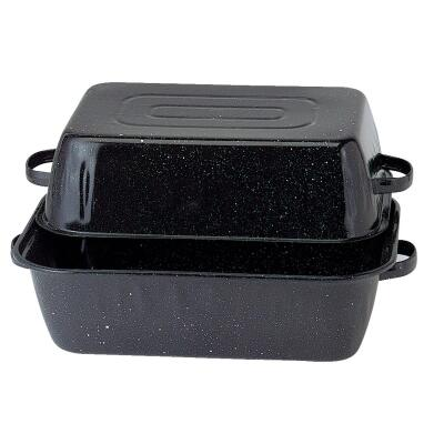 GraniteWare Covered Rectangle Roaster Pan
