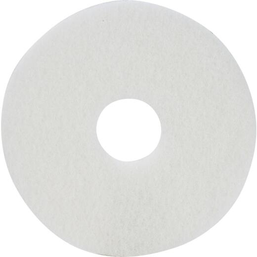 Lundmark 13 In. White 175 to 300 RPM Buffing Pad