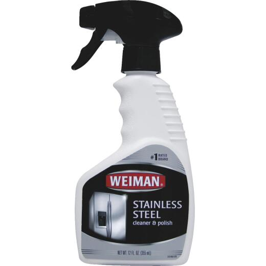 Weiman 12 Oz. Stainless Steel Cleaner & Polish