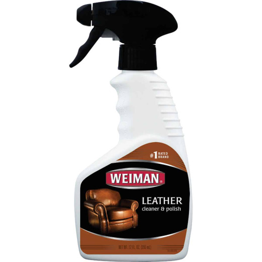 Weiman 12 Oz. Trigger Spray Leather Care Cleaner & Polish