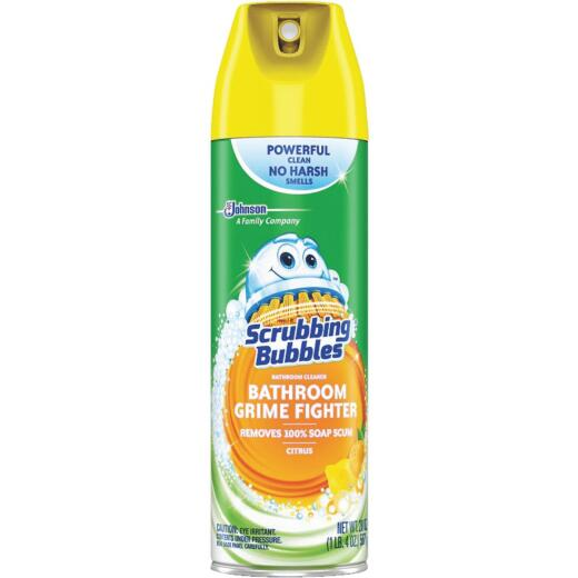 Scrubbing Bubbles 20 Oz. Citrus Disinfectant Penetrating Foam Bathroom Cleaner