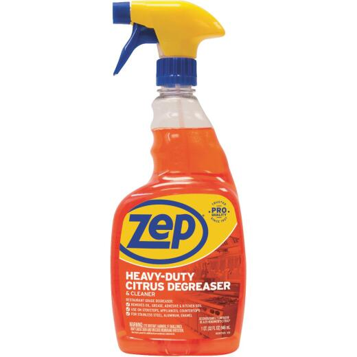 Zep Commercial Citrus 32 Oz. Liquid Cleaner & Degreaser