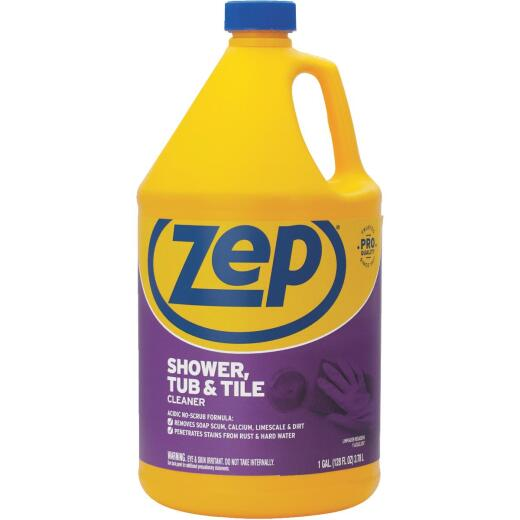 Zep Commercial 1 Gal. Shower Tub & Tile Bathroom Cleaner