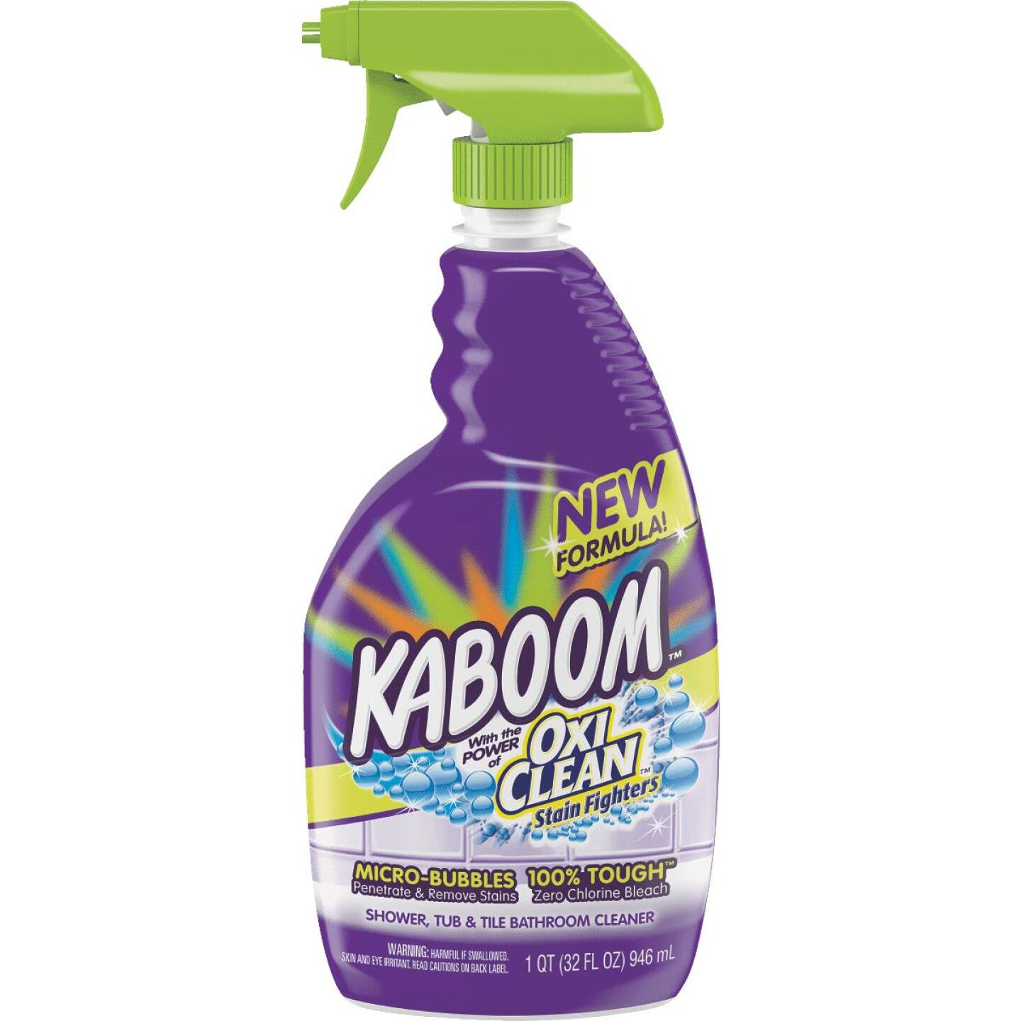 Kaboom 32 Oz. Shower Tub & Tile Bathroom Cleaner with OxiClean Image 1