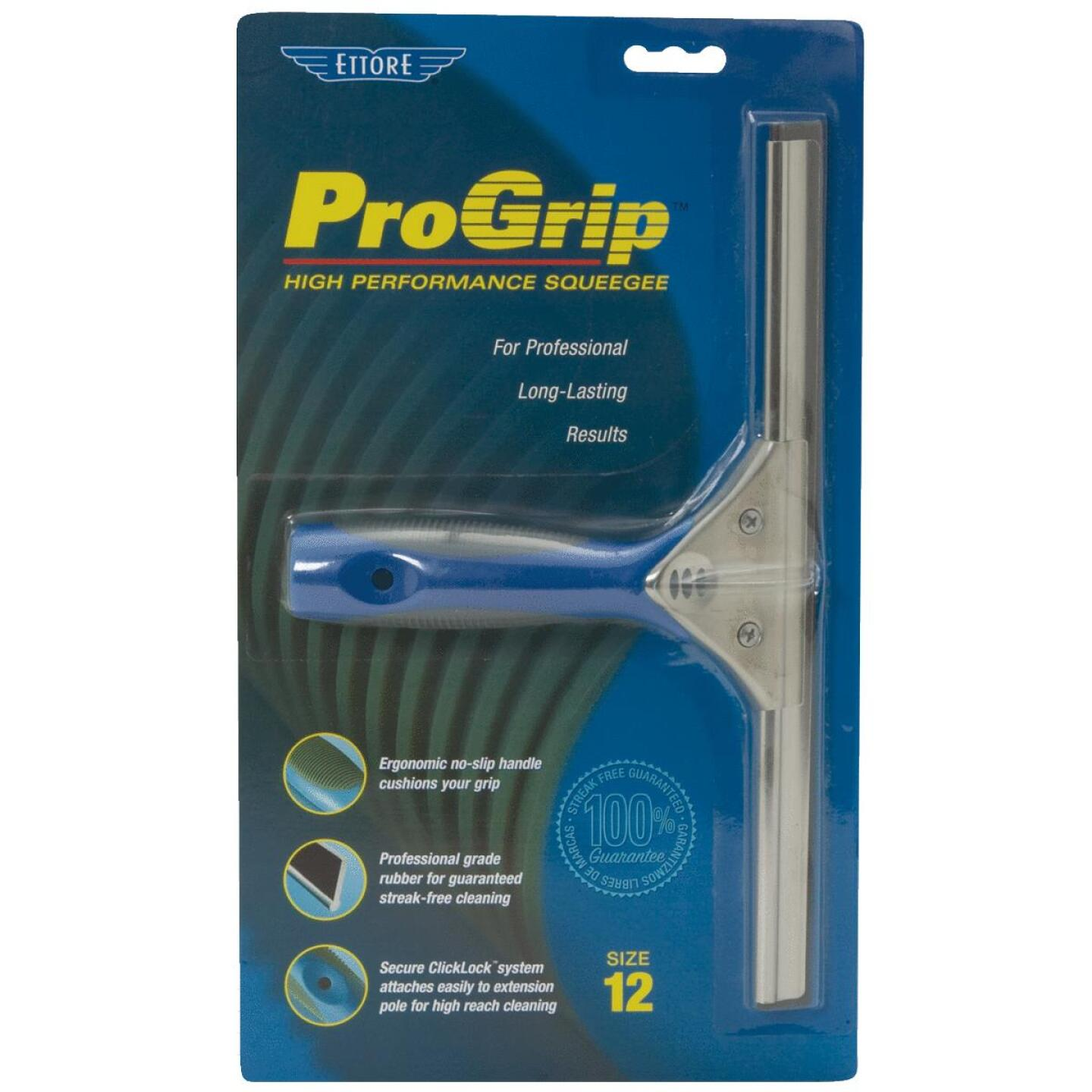 Ettore ProGrip 12 In. Rubber Squeegee Image 2
