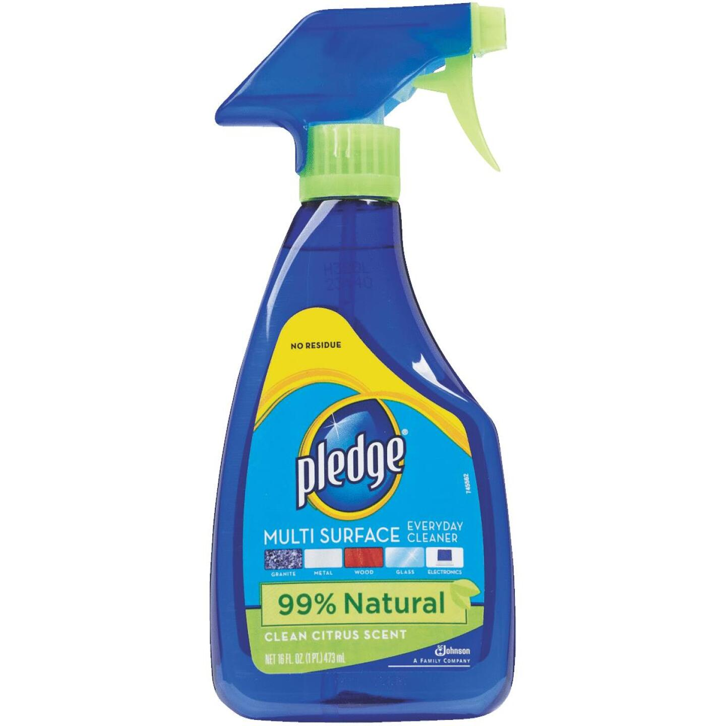 Pledge 16 Oz. Clean Citrus Multi Surface Everyday Cleaner Image 1