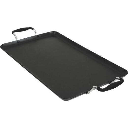 Ecolution Artistry Hydrolon Treated 12 In. x 18 In. Black Griddle
