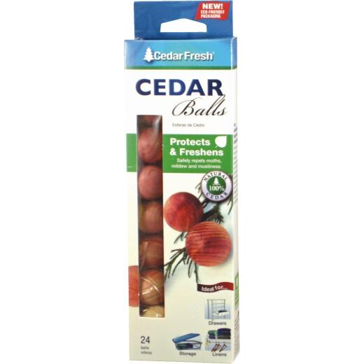 Cedar Fresh Cedar Wood Cedar Balls (24-Pack)