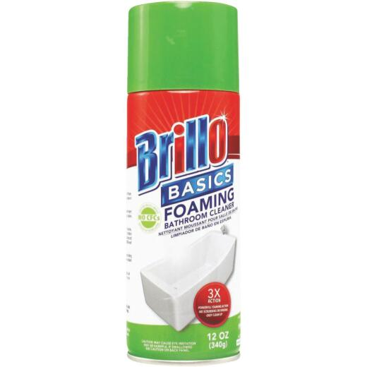 Brillo Basics 12 Oz. Aerosol Clean Scent General Purpose Bathroom Cleaner