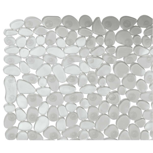 InterDesign Pebblz 22 In. Square Shower Mat