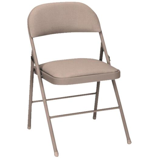 COSCO Fabric Folding Chair, Beige