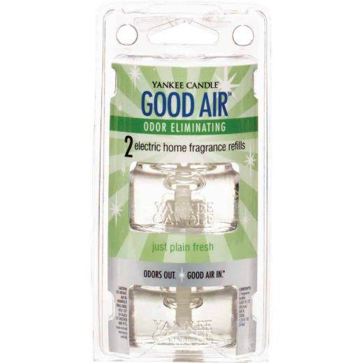 Yankee Candle Good Air Just Plain Fresh Air Freshener Refill (2-Count)