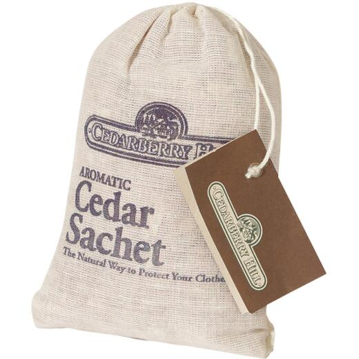 Cedarberry Hill 3 In. W. x 5 In. H. Cedar Sachet
