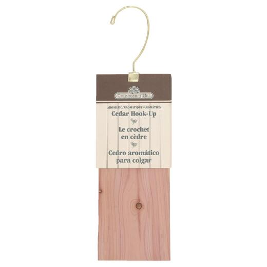 Cedarberry Hill Cedar 3 In. W. x 9 In. L. x .31 In. D. Cedar Hang Up