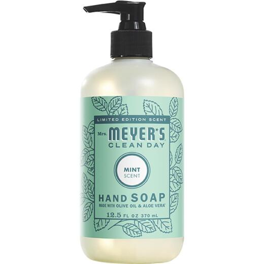 Mrs Meyer's Clean Day 12.5 Oz. Mint Liquid Hand Soap