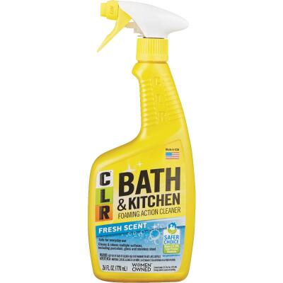 CLR 26 Oz. Foaming Action Bath & Kitchen Cleaner