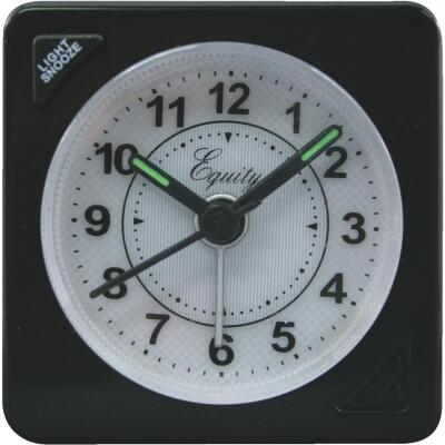 La Crosse Technology Equity Quartz Analog Travel Alarm Clock