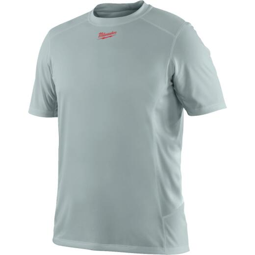 Milwaukee Workskin Medium Gray Short Sleeve Men's Shirt