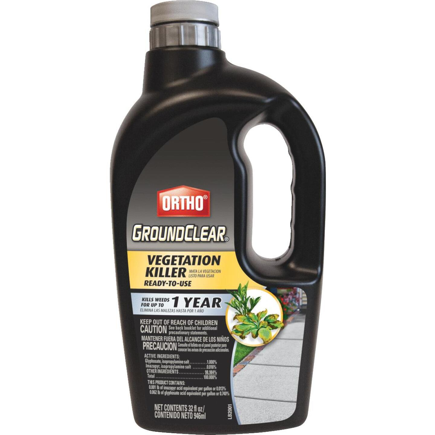 Ortho GroundClear 1 Qt. Ready To Use Vegetation Killer Image 1