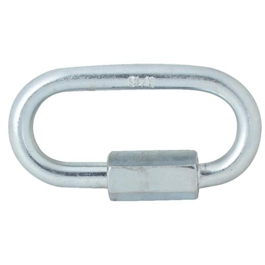 Campbell 3/16 In. Zinc-Plated Steel Quick Link