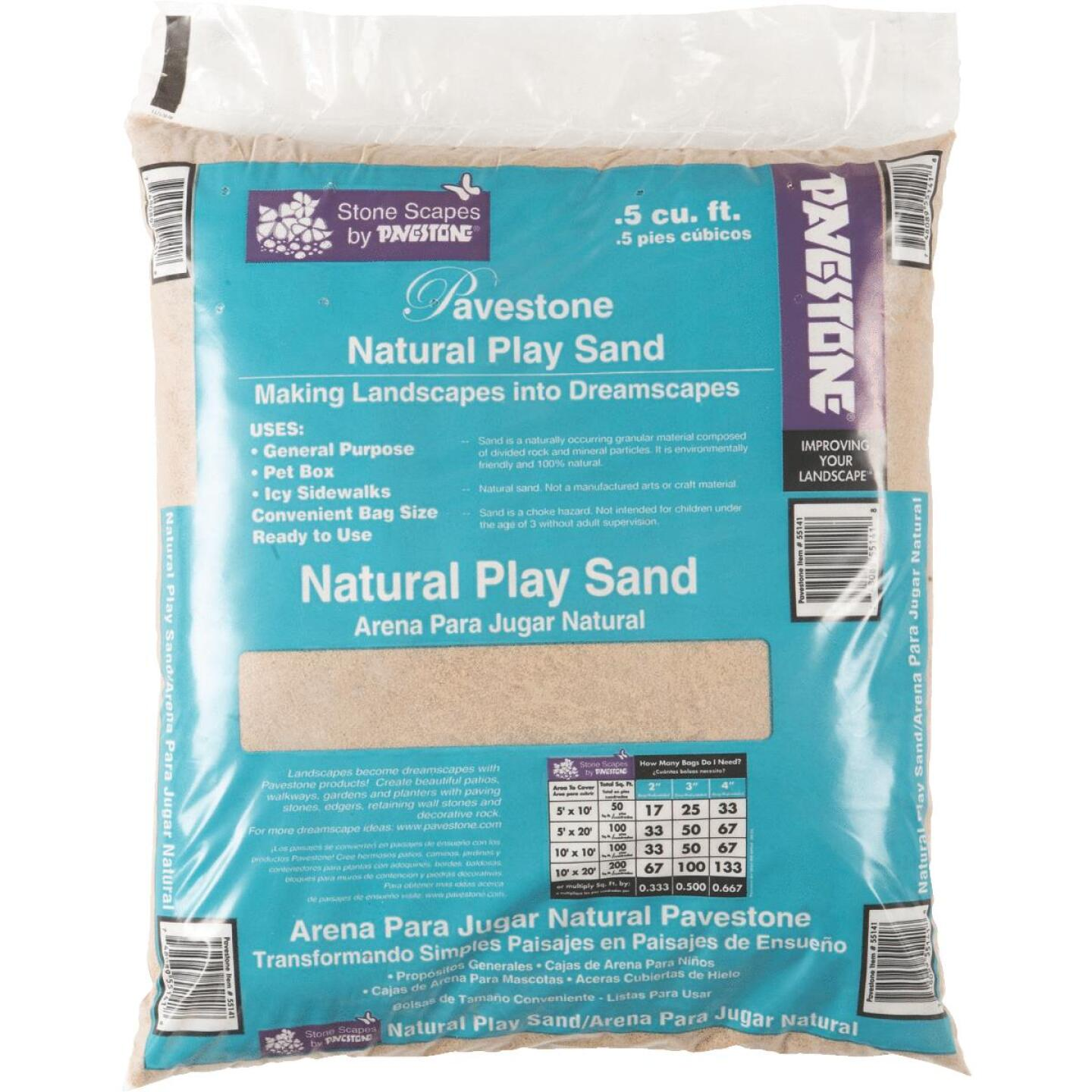 Pavestone 0.5 Cu. Ft. Play Sand Image 1
