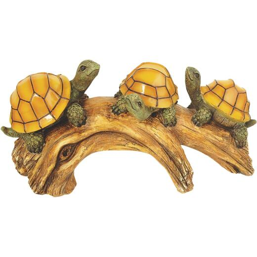 Moonrays Solar Turtle Lighted Garden Ornament