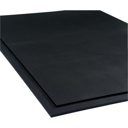 RB Rubber Products 4 Ft. x 6 Ft. x 3/4 In. Rubber Mat