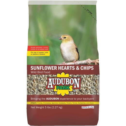 Audubon Park 5 Lb. Sunflower Hearts & Chips