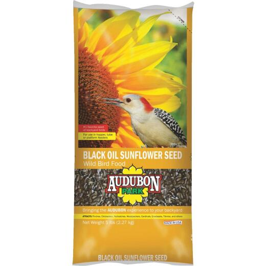 Audubon Park 5 Lb. Black Oil Sunflower Seed