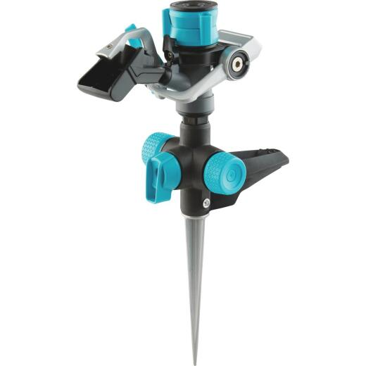 Gilmour Plastic Impact Sprinkler with On/Off Spike