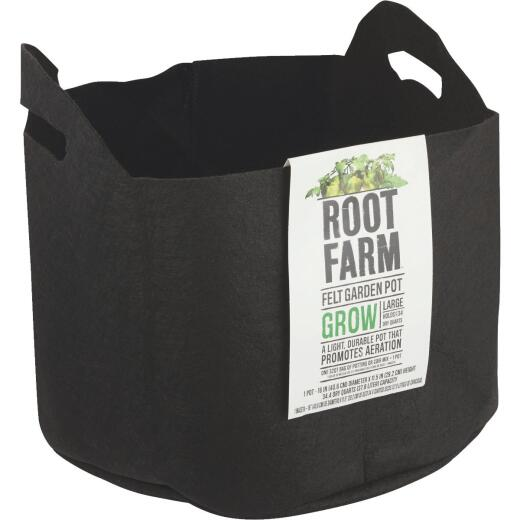 Root Farm Felt Large Garden Pot