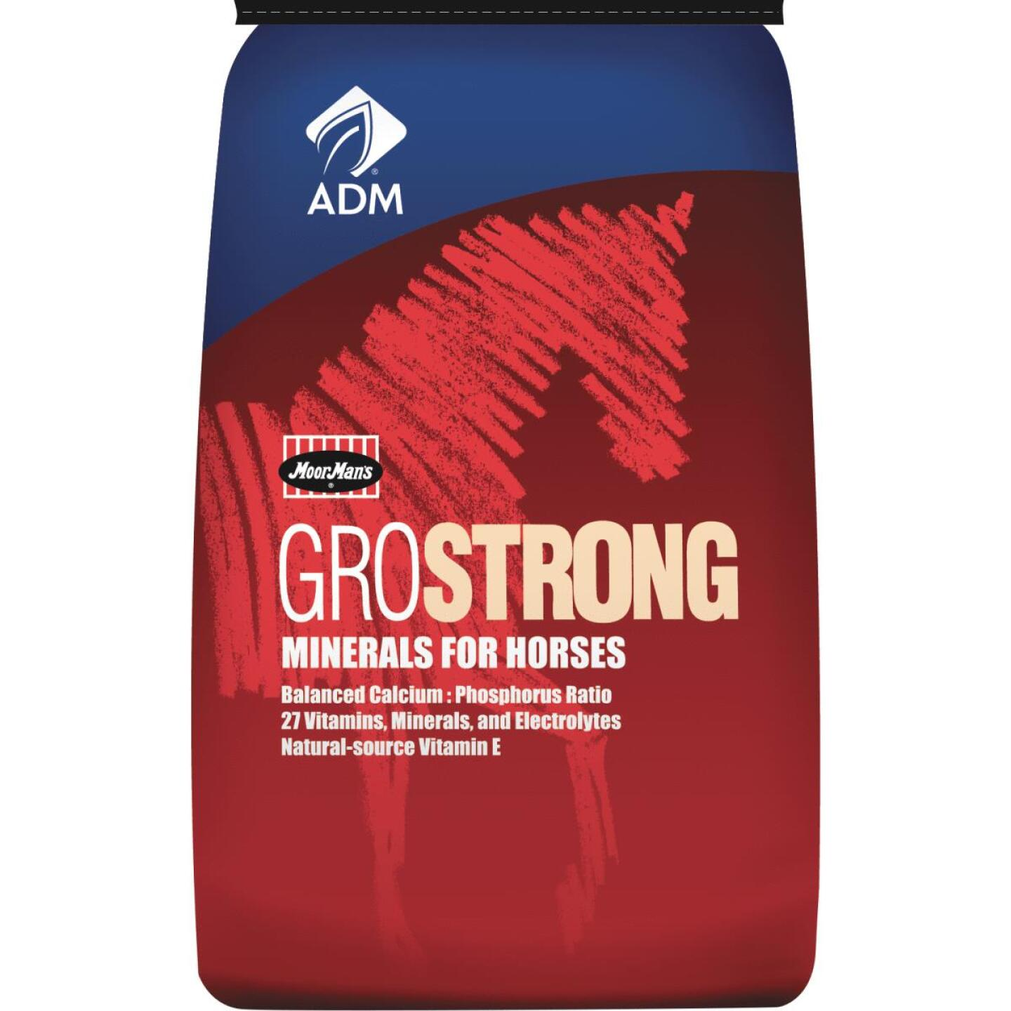 ADM GroStrong 25 Lb. Mineral Horse Feed Supplement Image 1